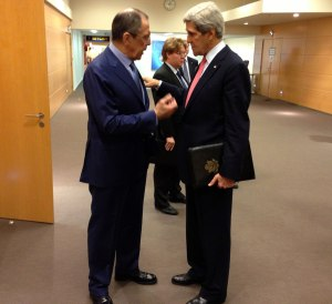 Secretary of State John Kerry and Russian Foreign Minister Sergey Lavrov in 2013.