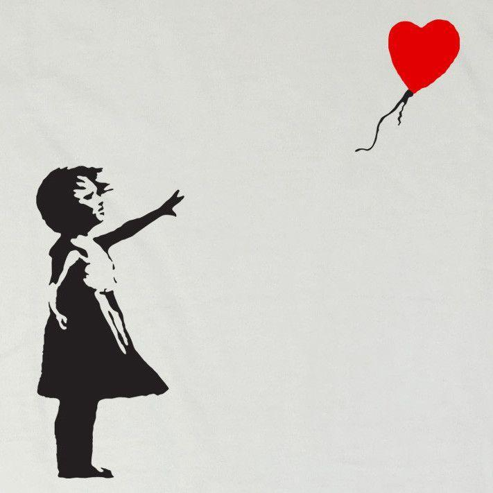 "Banksy - ""There is always Hope"""